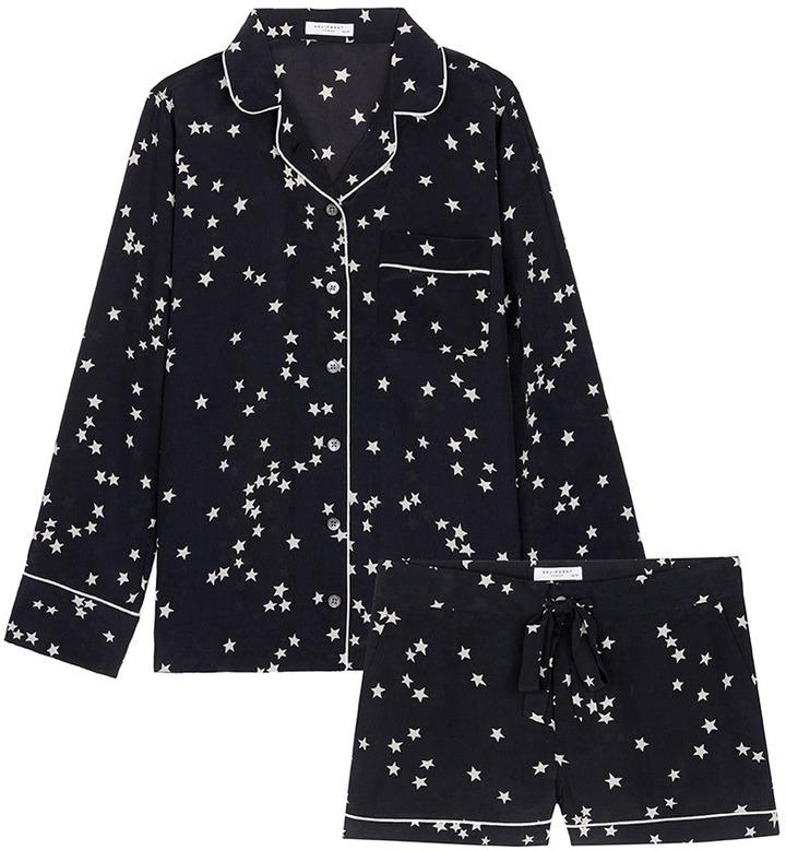 EquipmentEquipment 'Lillian' star print silk pyjama set