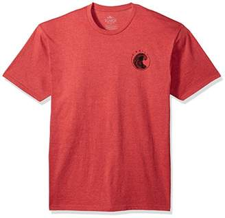 O'Neill Men's Standard Fit Front and Back Graphic Short Sleeve Tee