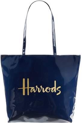 Harrods Logo Shoulder Tote Bag