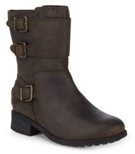 UGG Wilcox Leather Moto Boots