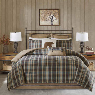 Asstd National Brand Woolrich Hadley Plaid Comforter Set