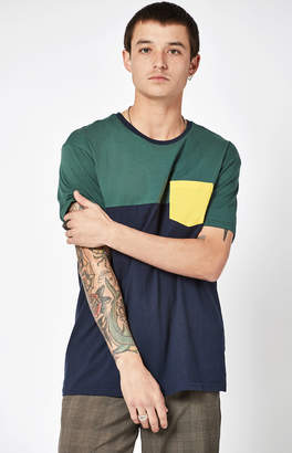 Pacsun Cannon Colorblock Relaxed Pocket T-Shirt