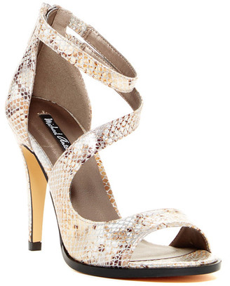 Michael Antonio Joyd Snake High Heel Sandal $49 thestylecure.com
