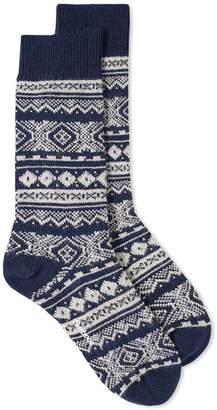 Barbour Onso Fair Isle Sock