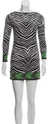 MICHAEL Michael Kors Zebra Print Mini Dress w/ Tags