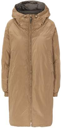 Max Mara Reversible A-Line Hooded Parka