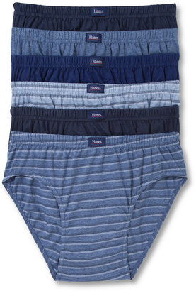 Hanes Platinum Men's Underwear, Sport Brief 6 Pack $36 thestylecure.com