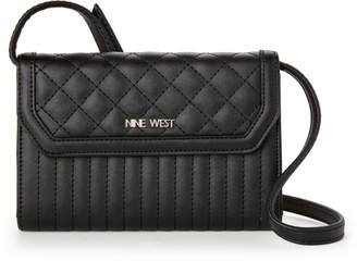 Nine West Black Dorianne Crossbody