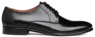 H&M Leather Derby Shoes - Black