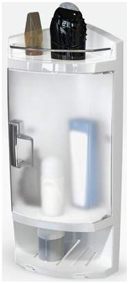 Argos Home Frosted Door Corner Bathroom Cabinet