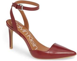 Calvin Klein Raffaela Ankle Strap Pump