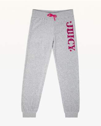Juicy Couture Juicy Magnifique Velour Zuma Pant for Girls