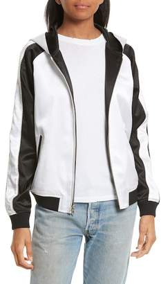 Opening Ceremony Reversible Silk Track Jacket