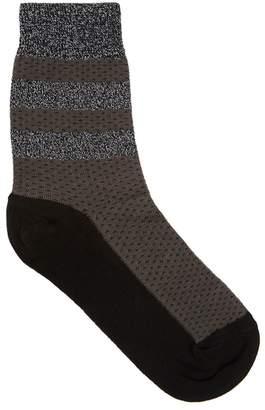 Pierre Mantoux Velia Dark Grey Jersey Socks