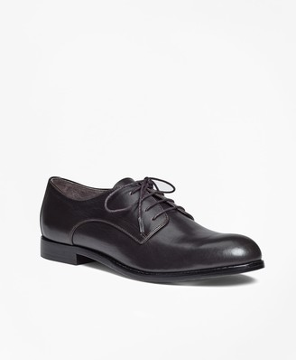 Brooks Brothers Leather Lace-Up Oxfords