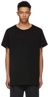 Yohji Yamamoto Black Leaf T-Shirt