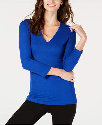 INC International Concepts I.n.c. Ribbed Top