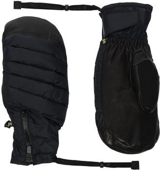 Burton AK quilted ski gloves