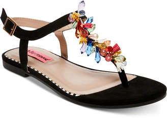 Betsey Johnson Rosita Flat Sandals