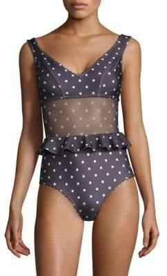 Zimmermann One-PieceFlutterSwimsuit