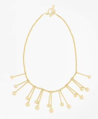 Brooks Brothers Ball-and-Bar Collar Necklace