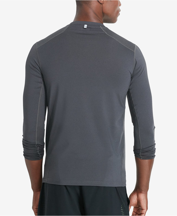 Polo Sport Men's Paneled Compression Long-Sleeve Shirt