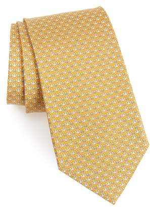 Salvatore Ferragamo Encora Silk Tie