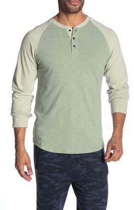 Sovereign Code Fade Raglan Henley Tee Shirt