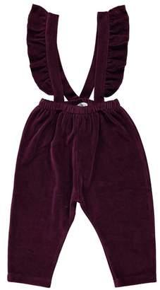 Bebe Organic Sanne Pants, Maroon
