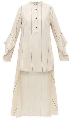 Palmer Harding Palmer//Harding Palmer//harding - Echo Oversized Striped Shirt - Womens - Cream