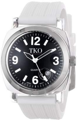 TKO ORLOGI Women's TK558-WT Milano Junior Acrylic Case Dial Watch