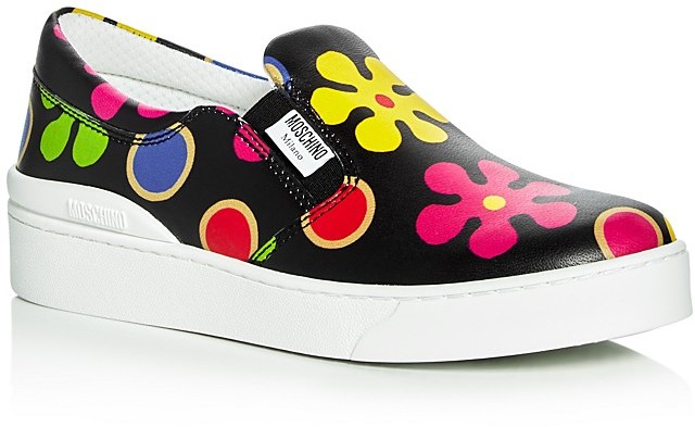 Moschino Moschino Platform Slip On Sneakers