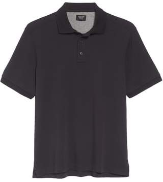 Nordstrom Regular Fit Interlock Knit Polo