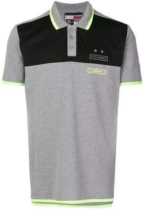 Plein Sport mesh panel polo shirt