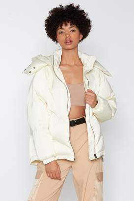 Nasty Gal Layer It On Padded Coat