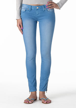 Harlow Low-Rise Ankle Skinny Jean