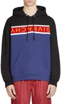 Givenchy Colorblock Logo Hoodie