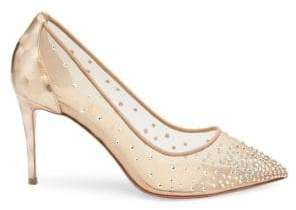 Christian Louboutin Follies Strass 85 Pumps