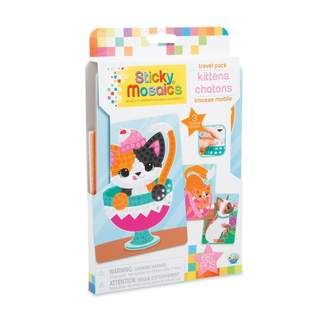 Factory Orb Sticky Mosaics Travel Packs Kittens