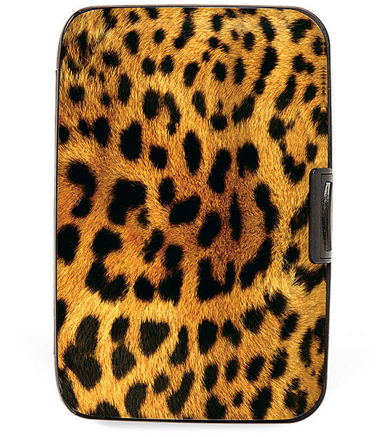 Leopard Armored Wallet