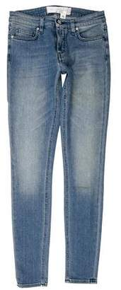 Victoria Beckham Victoria Mid-Rise Skinny Jeans w/ Tags