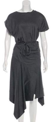 Isabel Marant Short Sleeve Wrap Dress