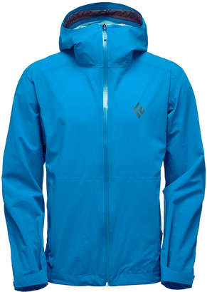 Black Diamond Men StormLine Stretch Rain Shell Jacket from Eastern Mountain Sports
