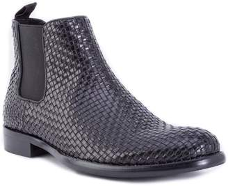Robert Graham Woodward Woven Chelsea Boot