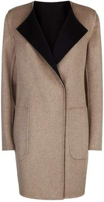Akris Talia Reversible Cashmere Coat