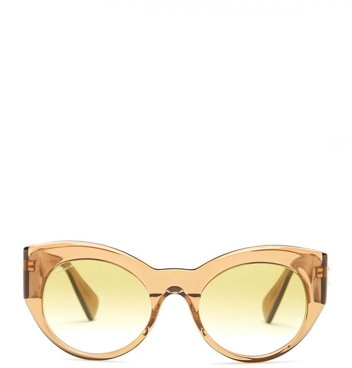 VersaceVersace Women's Rock Icons Medusa Rounded Cat Eye Sunglasses