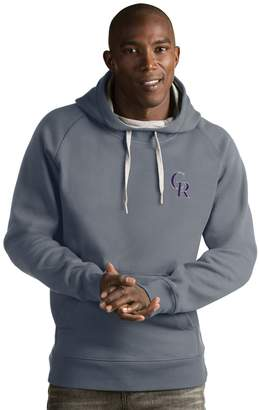 Antigua Men's Colorado Rockies Victory Pullover Hoodie