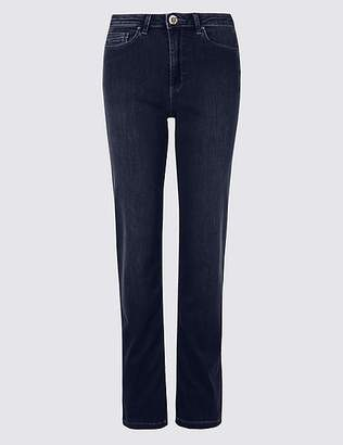 Marks and Spencer Sculpt & Lift Roma Rise Straight Leg Jeans