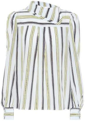See by Chloe Striped silk blouse