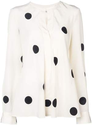 Derek Lam 10 Crosby Long Sleeve Button-Down Blouse